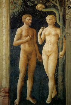 Masolino The Temptation of Adam and Eve