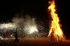 ¡Feliz verbena de San Juan! #nocheMagica #fuegosArtificiales #SanJuan