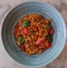 Spanish rice is a traditional, somewhat spicy side dish found throughout Latin America. https://www.theveggietable.com/blog/vegetarian-recipes/appetizers-side-dishes/spanish-rice/