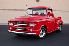 It's rare to see a stepside D-100 of an era. This '58 model is looking sweet! www.zimmermotors.com