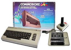 Commodore 64 Home Computer System and Accessories - Geek Vintage Alter Computer, Home Computer, Gaming Computer, Draw Poker, Raspberry Pi, Nostalgia, 8 Bits, Old Computers, Old Video
