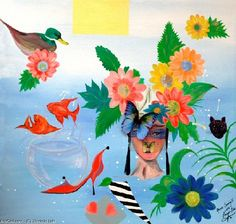 Artwork >> Maximin Lida >> ARORA SPRING I - Contemporary