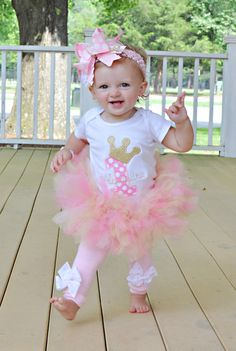 Baby Girl Tutu Royal Princess Birthday by DarlingLittleBowShop