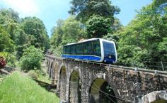 Penang Hill is easily accessible by the funicular train. Once on the hill, the cooler weather will promote a lovely walk amid lush, greenery.