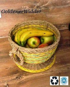 Miseczka na owoce - krok po kroku (Goldener Widder)