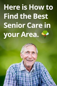 Get help finding the best care for you or your loved one.