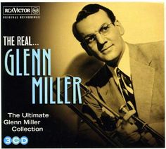 """Handy compilation features """"In The Mood"""" ; """"Over The Rainbow"""" ; """"Beat Me Daddy Eight to The Bar"""" ; """"Chattanooga Choo Choo"""" and more. Glenn Miller, Chattanooga Choo Choo, The Glenn, Jazz Blues, My Daddy, Cool Things To Buy, The Originals, Best Deals, Music"""