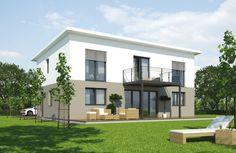 Das Stadtvilla Linz 127 von MASSIVPLUS hat eine Wohnfläche von 127m². Preis ab: auf Anfrage. Jetzt auf Massivhaus.de ansehen. Style At Home, Mansions, House Styles, Home Decor, Building Companies, Linz, Homes, Mansion Houses, Homemade Home Decor