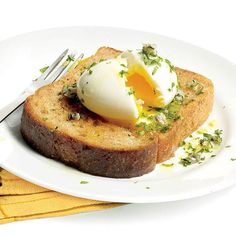 Seamus Mullen's Easy 6-Minute Egg Recipe. Try it for B, L, and D (breakfast, lunch and dinner)!