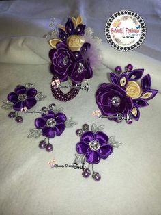 Beauty kanzashi. Handmade from Indonesia