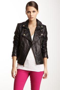 Bebe Leather Moto Jacket on HauteLook