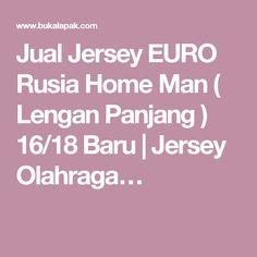Jual Jersey EURO Rusia Home Man ( Lengan Panjang ) 16/18 Baru   Jersey Olahraga…