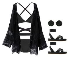 """""""Untitled #161"""" by gabbylabarge ❤ liked on Polyvore featuring So Noire and rag & bone"""