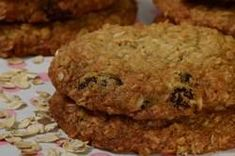 Oatmeal Raisin Cookies are a golden brown cookie with a bumpy surface. Their edges are crisp, their flavor sweet, and their texture is wonderfully soft and chewy. From Joyofbaking.com With Demo Video