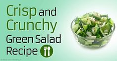 Check out Dr. Mercola's super green salad recipe, supercharged with nature's most nutritious superfoods. http://articles.mercola.com/sites/articles/archive/2015/05/10/green-salad-recipe.aspx