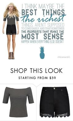 """Best things"" by ascarroll ❤ liked on Polyvore featuring City Chic and plus size clothing"