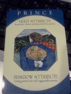 Caroline Myss - Archetype Card - Prince