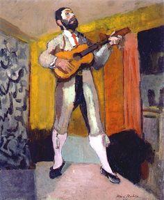 """The Guitarist"" Henri Matisse, 1903"