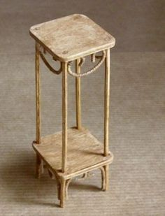 So many ideas and think tutorials at least partial inst. supples needed--and so many more garden furniture pieces!