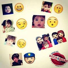 Shakira Compartilha Imagem de Emoticons do Filho Milan