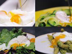 4 façons de préparer des œufs pochés Entrees, Sushi, Brunch, Eggs, Coups, Solution, Breakfast, Ethnic Recipes, Kitchen