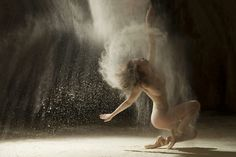 Ludovic Florent's Mesmerizing Series of Nude Dancers Engulfed in Dust I would love for the Kimball or DMA to make an exhibit of this!