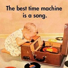 So true! On this lazy Sunday evening of a glorious long weekend why not fire up the speakers, spinning vinyl, CD's or via tech savvy music streaming 😳 and step back in time with some classic tracks #timemachine #soundtracks #mylife #music #musicismylife #50s #60s #70s #80s #90s #00s #turntable #recordplayer #vinyl