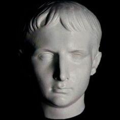 Augustus Roman Emperor Mask Museum Sculpture Replica Reproduction
