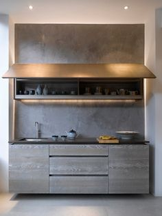 Roundhouse grey kitchens contemporary-kitchen