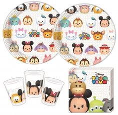Disney's Tsum Tsum Party Deko Set