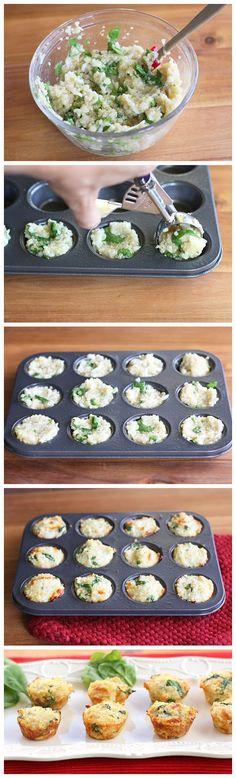 Quinoa Omelette Bites - Askmefood