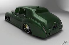 Bentley S3 E Lowrider Concept from the Bentley Boys   BallerRide.com