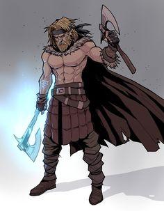 ArtStation - Fantasy Characters Design , Bekarys Zhabagin