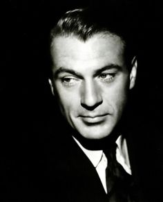 Gary Cooper - swoon so hard. Why aren't men made this handsome anymore?