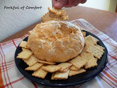 Forkful of Comfort: Buffalo Chicken Cheese Ball