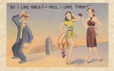 linen postcard | Vintage Linen Postcards