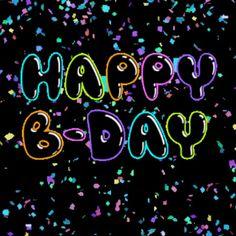 Top Happy Birthday Wishes Gif Images - Birthday Gif Happy Birthday Gif Images, Birthday Wishes Gif, Happy Birthday Celebration, Happy New Year Images, Happy Birthday Greetings, Birthday Quotes, Happy Birthday Rainbow, Birthday Fun, Birthday Cards