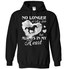 Horse always in my heart T Shirts, Hoodies. Check price ==► https://www.sunfrog.com/Pets/Horse-always-in-my-heart-Black-Hoodie.html?41382