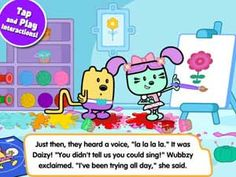 Wubbzy's Dance Party - interactive story, videos, plus fun mini-games included for kids to enjoy Coloring Apps, Coloring Books, Educational Apps For Kids, Shape Games, App Of The Day, Alphabet Games, Interactive Stories, Color Activities, Up Game
