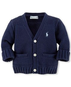 Ralph Lauren Baby Boys' Cardigan Sweater - Kids - Macy's