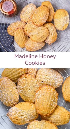 Create a free account Honey Cookies, Sugar Free Cookies, Honey Recipes, Sweet Recipes, Healthy Desserts, Just Desserts, Healthy Food, Madeline Cookies Recipe, Madelines Recipe