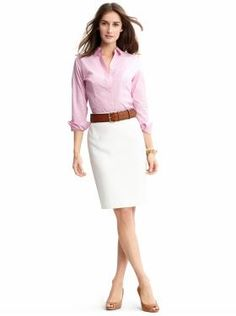 I do need to build my professional wardrobe out of things other than slacks and young lady style button ups.