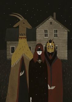 digi graphic art illustration surreal night art , or halloween festival imagery for the modern goth Alexandra Dvornikova