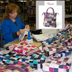 Daniella is lost in sea of Mini Patchwork #Fortunata Leather #Handbags- lots of colors, designs and lots of good luck with the traditional Italian Chili Pepper!  http://www.pierotucci.com/en/italian-online-shop/56-0/Fortunata-leather-tote-bags.html