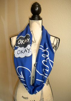The Fault in Our Stars infinity scarf