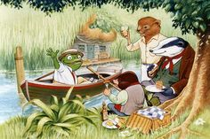 Enjoy this enchanting collection of quotes and passages from The Wind In The Willows - they will put a smile on your face without fail.