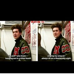 He's absolute perfection with a sense of humor!! Its meant to be! :) #dansmith #Bastille #flaws
