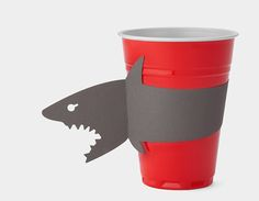 Cute cup sleeve designs with added bite! http://www.creativebloq.com/product-design/cup-sleeve-designs-bite-6133157 #productdesign #partyideas