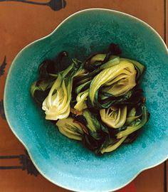 Stir-Fried Baby Bok Choy with Garlic by epicurious #Baby_Bok_Choy #Garlic #Fast #Healthy