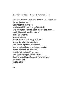 ein Gedicht aus Straubing
